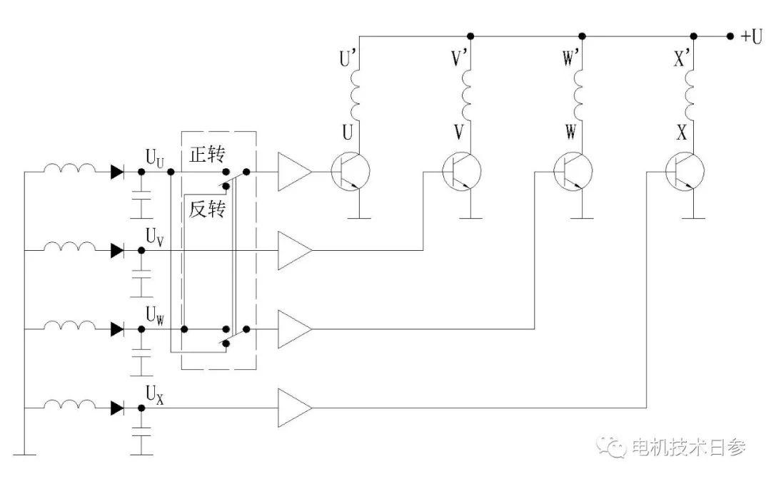 如何实现无刷直流永磁电动机正反转
